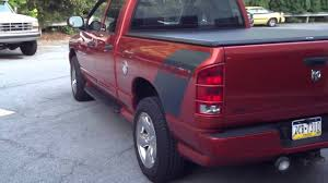 Dodge 1500 Truck Bed Cover - dodge ram daytona tonneau cover youtube