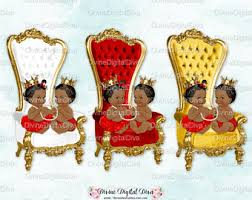 Baby Throne Chair Baby Throne Chair Red White Gold Light Skin Tone Ballerina