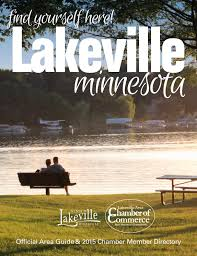 lakeville official area guide u0026 2015 chamber member directory by