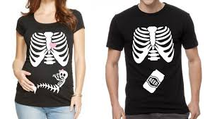 maternity skeleton shirt halloween maternity shirt baby