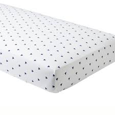 Spaceship Crib Bedding by Organic Little Prints Blue Rocket Crib Fitted Sheet The Land Of Nod