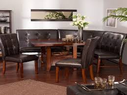 Dining Room Sectional Dining Room Table Soft Seat Sofa Style - Dining room table with sofa seating