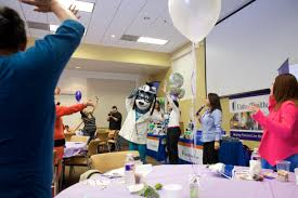 care baby shower unitedhealthcare baby blocks shown to help expectant mothers in