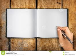 blank paper to write blank book open hand writing pen stock photo image 40844129 ballpoint blank