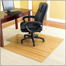 Floor Mats For Office Chairs Desk Chairs Square Beige Bamboo Office Chair Mat Carpet