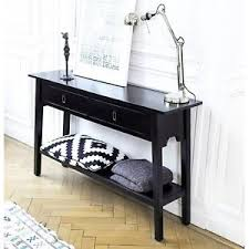 Black Console Table Vintage Console Table Furniture Shabby Chic Black Wooden Cabinet 2