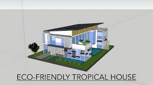 eco friendly tropical house ib personal project youtube
