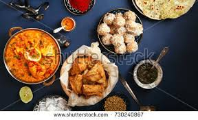 composition cuisine indian cuisine on diwali tikka stock photo image royalty