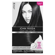 black pecision hair styles john frieda precision foam colour target