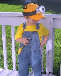 Despicable Minion Costume 25 Homemade Minion Costumes Ideas Minion