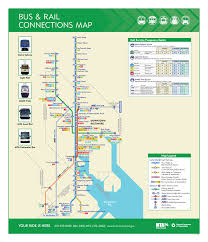 New York Rail Map by