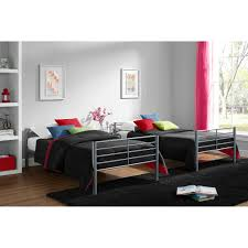 mainstays twin over twin convertible bunk bed multiple colors