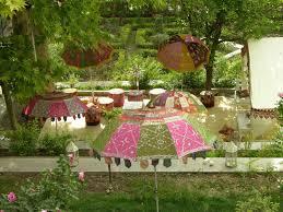 elegant persian outdoor garden wedding