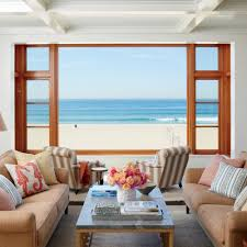 beachfront l a home tour coastal living