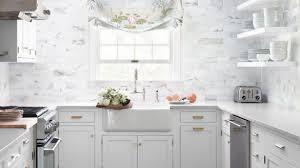 backsplash ideas for white kitchens white kitchen backsplash tile traditional raleigh by comfy regarding