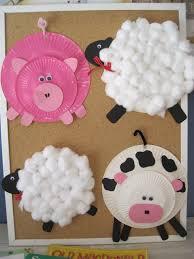 farm animals craft for kids