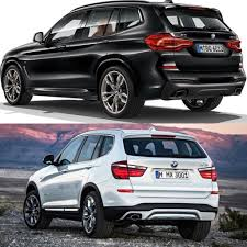 2017 bmw x3 vs 2018 photo comparison g01 bmw x3 vs f25 bmw x3
