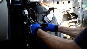pt cruiser window motor regulator removal youtube