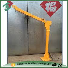 low price hitch mounted truck crane pickup crane with winch buy