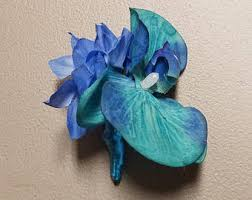 blue orchid corsage blue orchid corsage etsy