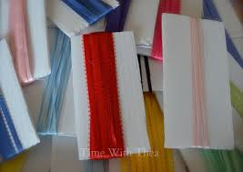 plastic ribbon how to organize and store narrow craft ribbon time with thea