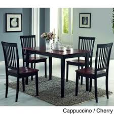 Oval Kitchen Table Sets by 7 Pc Oval Dinette Kitchen Dining Set Table W 6 Wood Seat Chairs