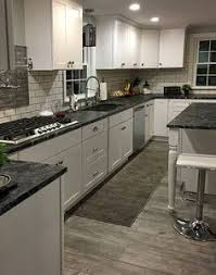 black granite countertops with white cabinets tile backsplash ideas for black granite countertops there are