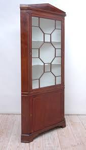 glass panels for cabinet doors english regency corner cabinet in mahogany with glass panel door