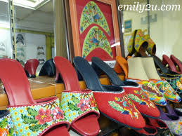 peranakan beaded shoes from emily to you