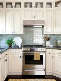 wall tiles for white kitchen cabinets 30 ideas for kitchen design back wall tiles glass or