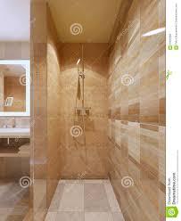 High Tech Bathroom High Tech Shower In Bathroom Stock Illustration Image 61943689