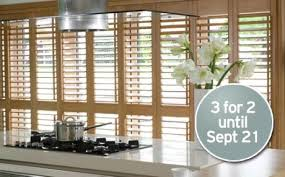 Thomas Sanderson Blinds Prices Bargain Hunter Discounted Shutters Fantastic 3 For 2 Offer On