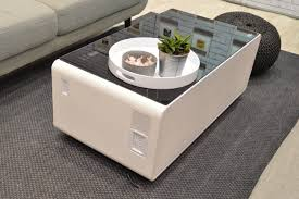 Coffee Table Store Sobro Coffee Table Has A Refrigerated Drawer And Other High Tech