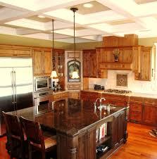 kitchens immaculate transformations granite tan brown granite island and crema bordeaux granite countertops with bump