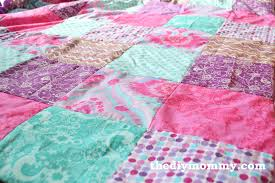 Duvet Quilt Cover How To Sew A Patchwork Child U0027s Duvet Cover The Diy Mommy
