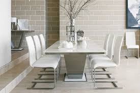 dining tables interesting marble top rectangular dining table