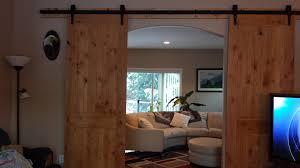 Pine Barn Door by Barn Door Slider Frank Lumber