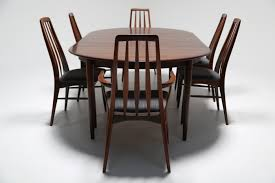 vintage danish 1960 u0027s dining table in rosewood by skovmand and