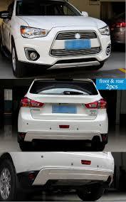 mitsubishi rvr interior bumper protector skid plate for mitsubishi rvr asx front rear