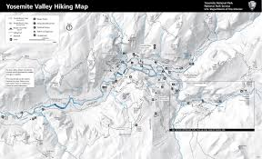Map Of Yosemite Brian And Ashley U0027s Hiking Blog Half Dome Yosemite National Park