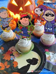 great pumpkin charlie brown halloween party ideas snoopy