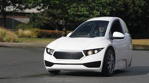 this canadian 1 seater electric car is the lonely man u0027s tesla