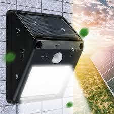 wireless sensor lights outdoor mising waterproof 12 led solar light solar power pir motion sensor