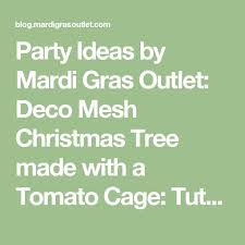 mardi gras outlet deco mesh party ideas by mardi gras outlet deco mesh christmas tree made with