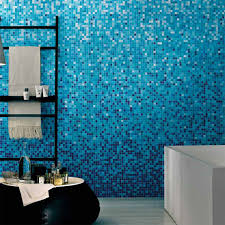 exquisite bathroom mosaic tiles blue wall color tile with mosaic