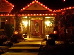 Outdoor Halloween Decor by Lighted Halloween Decorations Outdoor Lighted Halloween