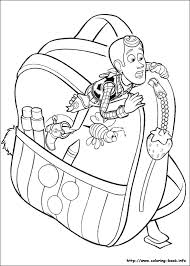 toy story sid coloring alltoys