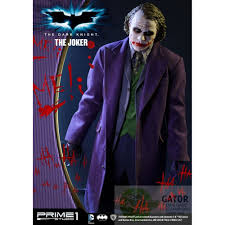 Dark Knight Joker Halloween Costume Prime 1 The Dark Knight 1 2 Statue The Joker 96 Cm Gator Film