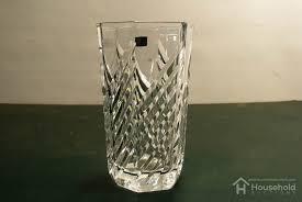 hoya mikasa crystal vase household auctions