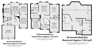 property floor plans 36 summerfield avenue whitchurch for sale 998 000 upcoming open house